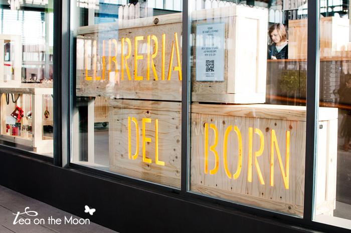 mercado del born barcelona libreria