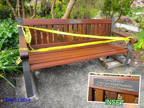 Finnerty Gardens Memorial Bench