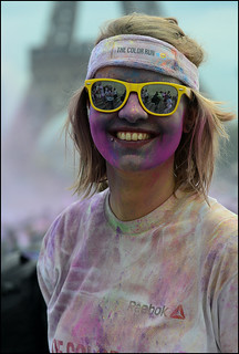 Paris color run
