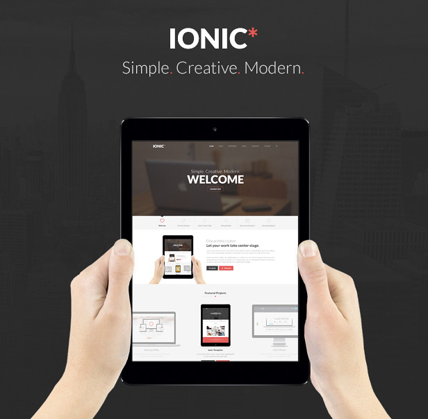Ionic Multi-Purpose PSD Theme