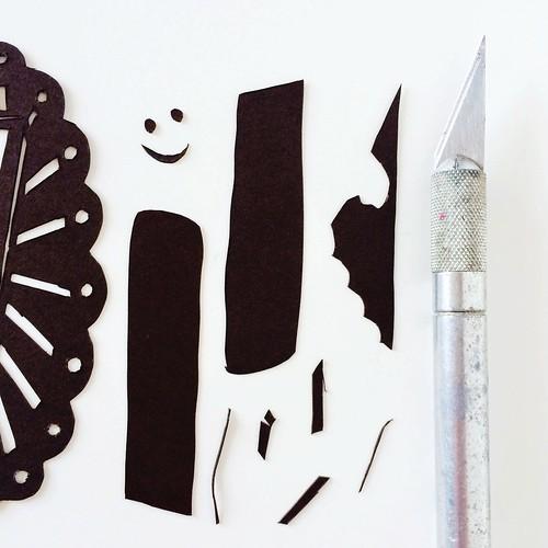 Papercut process shot