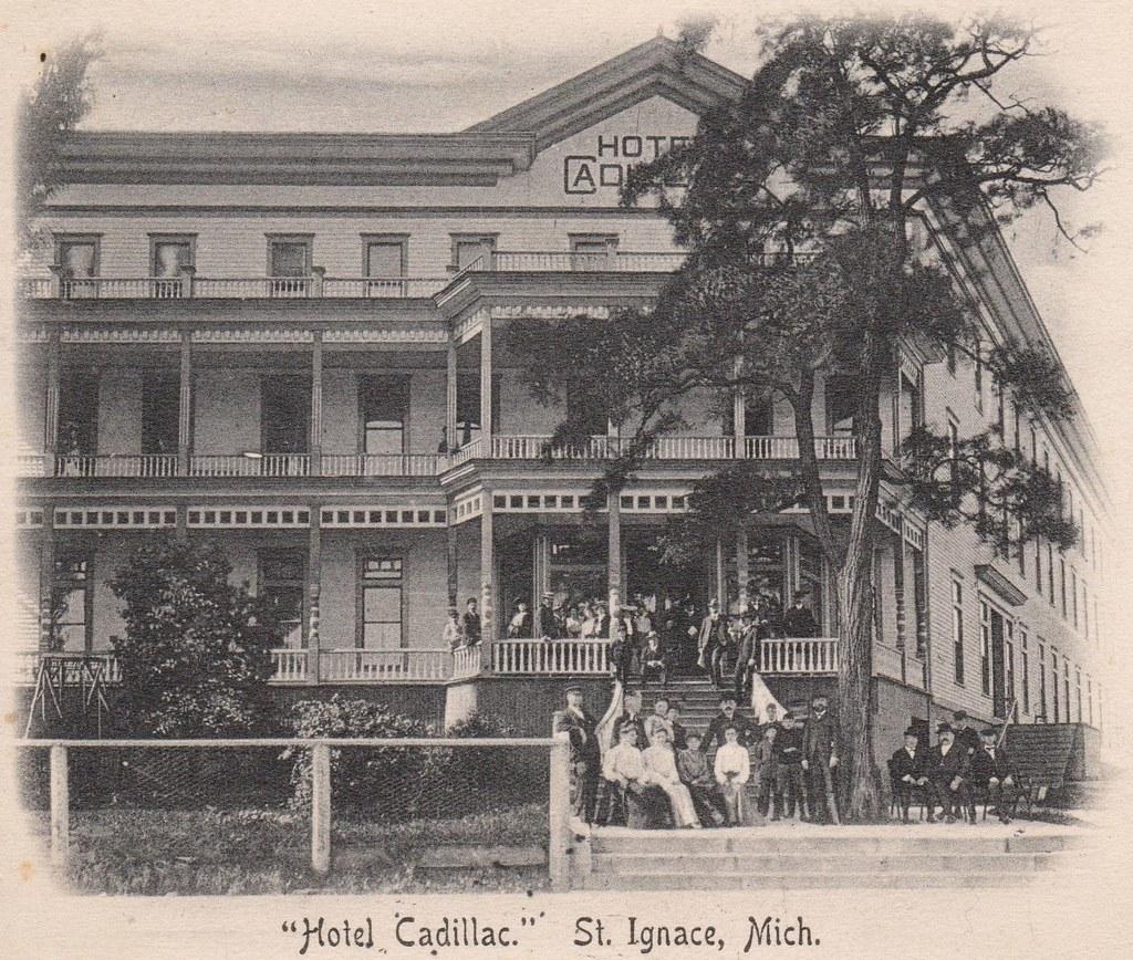 Hotel Cadillac - St Ignace - Michigan