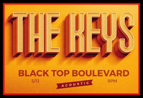 Black Top Boulevard 5-13-16