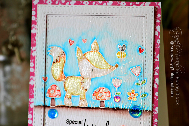 Specila friends card #2 closeup