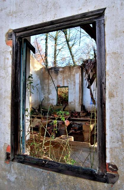 Ruinas por la ventana 2 (recorte)