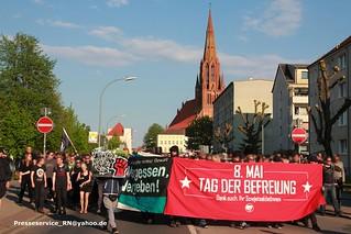 2016.05.08 Demmin Neonazi Trauermarsch und Proteste (2)