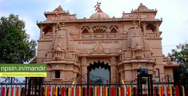 श्री अक्षरपुरुषोत्तम स्वामीनारायण मंदिर (Shri Aksharpurushottam Swaminarayan Mandir) - `Taaddev`, Kakaji Lane, Swaminarayan Marg, Ashok Vihar Phase - III, Delhi - 110052 Delhi New Delhi