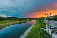 Sunset | Kaunas, Lithuania #151/365