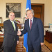 Secretary General Meets with Attorney General of Honduras