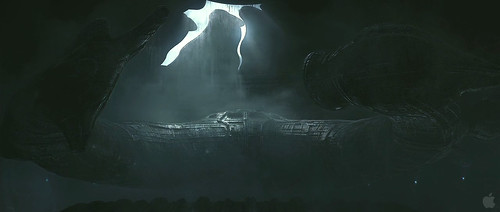 Prometheus Trailer2 - Alien Ship Leaving