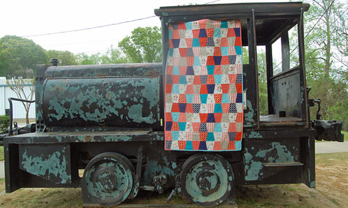 Micah Tumbler Quilt or Look, I took a REAL picture