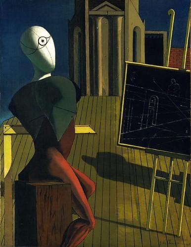 Giorgio de Chirico - The Seer [1914-15] by Gandalf's Gallery
