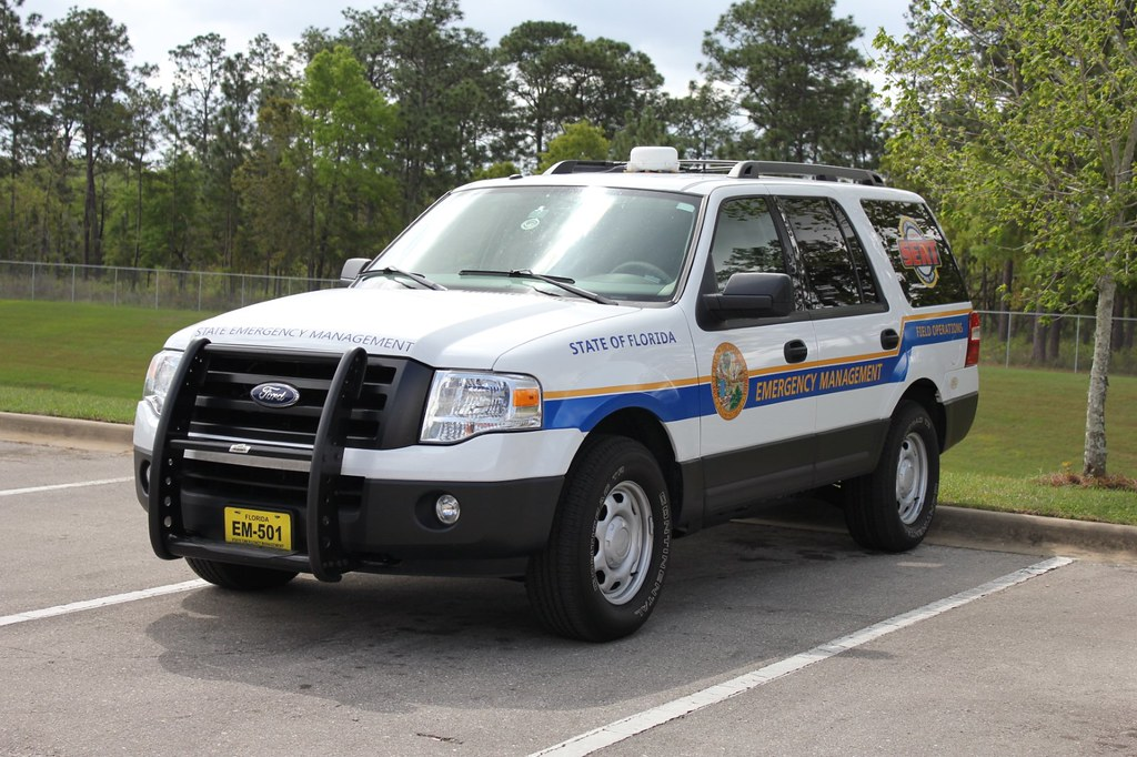 Florida Division of Emergency Management Ford Expedition