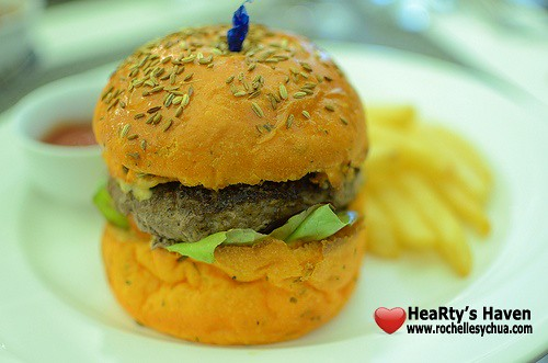 cake club lamb burger