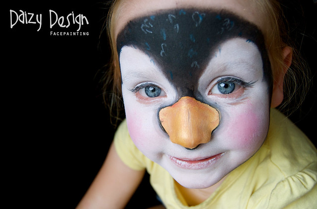 Face Painting Penguin Flickr Photo Sharing