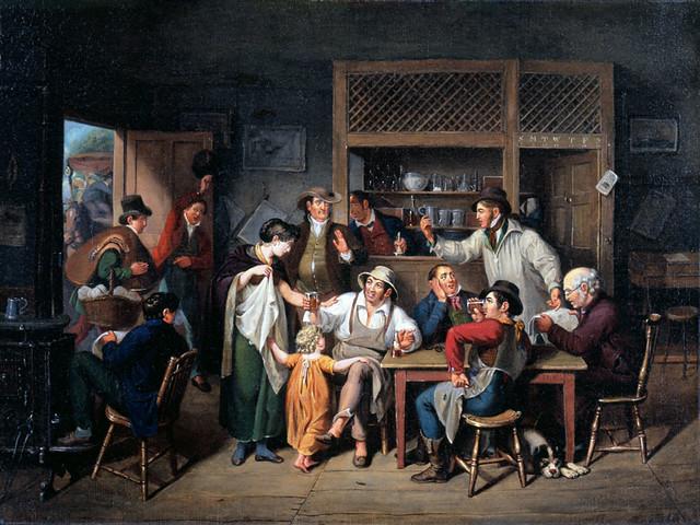 John Lewis Krimmel Village Tavern