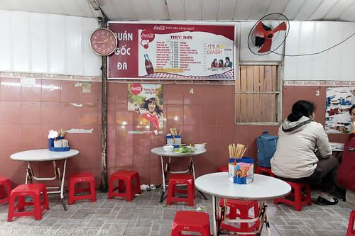 Inside 52 Lý Quốc Sư for an early teatime