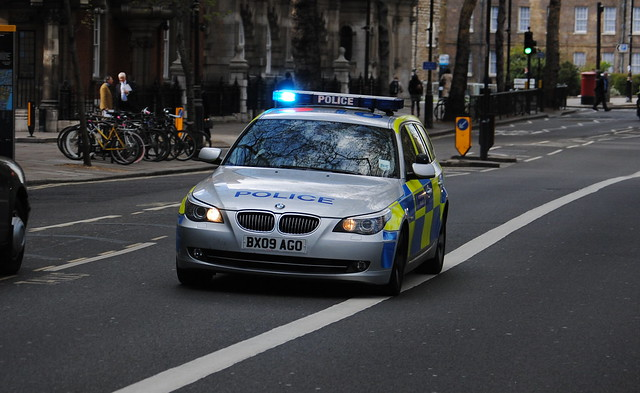 Metropolitan Police / BMW 530d / Roads Policing Unit / AHV / BX09 AGO