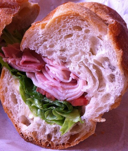 Gypsy and Danish Bacon, Boiled Ham Sandwich - Fumare Meats
