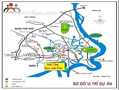 Bán Đất nền Biệt thự Hoa Anh Đào, Quận 9, HCM