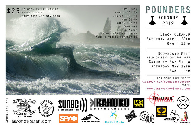 Pounders Roundup Poster