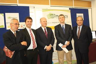 Webmetrics, una de las 9 empresas innovadoras presentadas por el CEEI