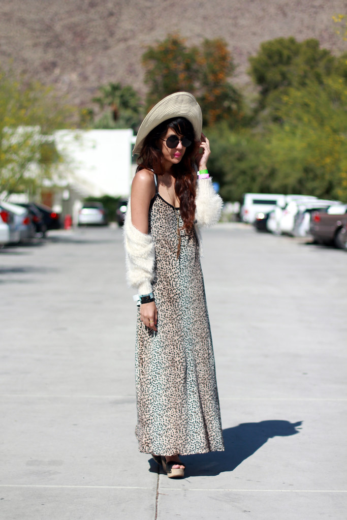 Tarte Vintage Leopard Velvet Maxi Dress with Side Slit available at shoptarte.com