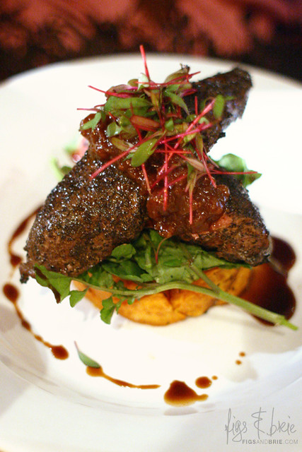 Wattleseed Crusted Kangaroo Fillet, The Duck Inn