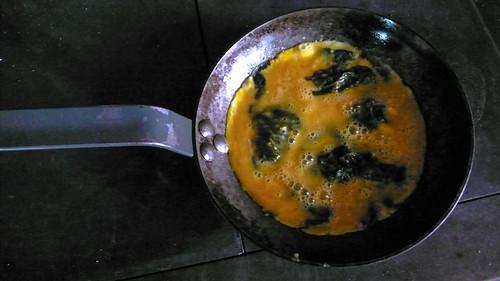 wilde kruiden omelet
