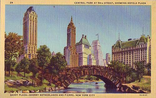 VintageCentralParkPostcard