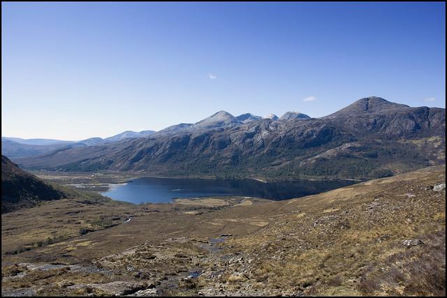 Beinn Eighe and Loch Maree