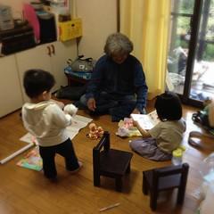 じいじととらちゃん(2012/5/4)