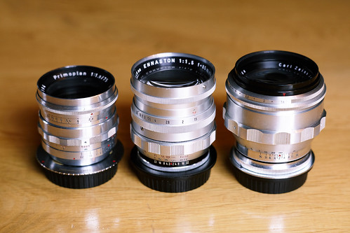 old fast german portrait-tele lenses
