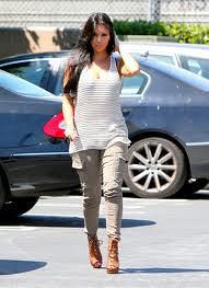 Kim Kardashian Cargo Jeans