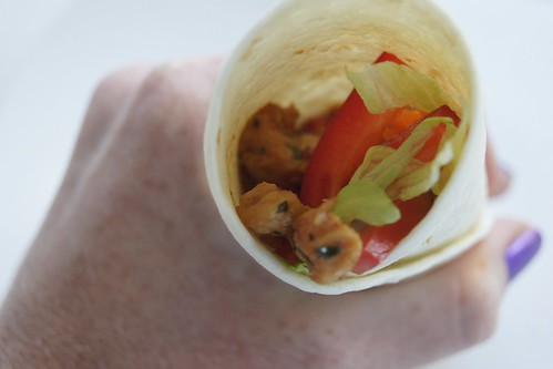 Chicken Wraps - Sweet Chilli