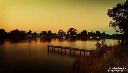 sunrise river landscape scenery jetty westernaustralia murrayriver mandurah australianrivers nikond90 sigma1020mmwideangle