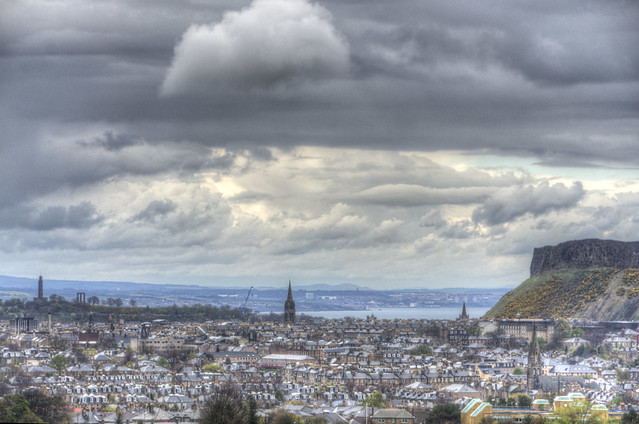 Crags to Calton Hill