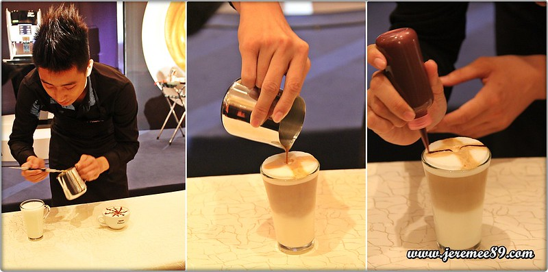 Nescafe Milano Launching @ E&O Hotel - Latte Drawing