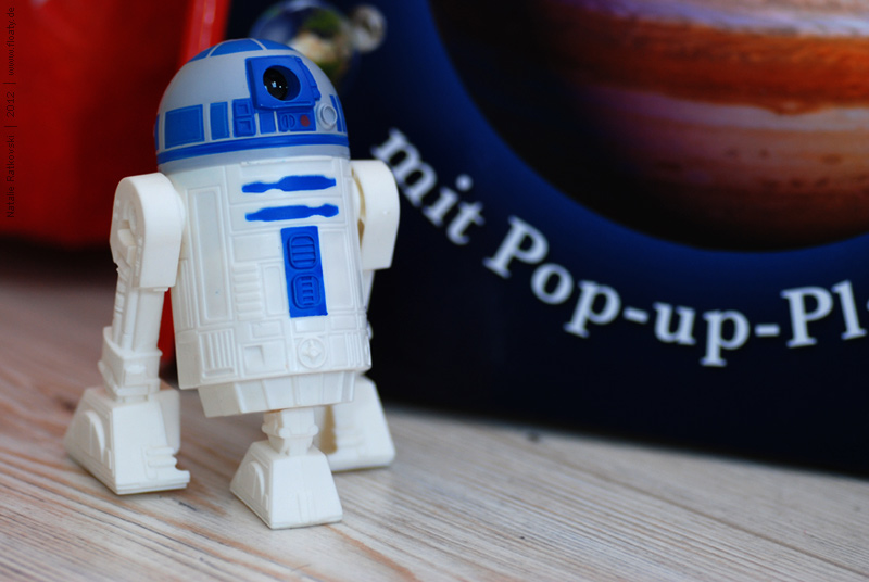 A planet-book of my son and R2D2