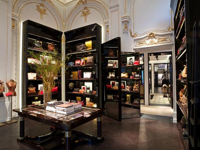 Carolina Herrera, Paris Boutique, 10 rue de Castiglione © david atlan / Carolina Herrera