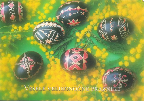 Easter Eggs from Slovenia