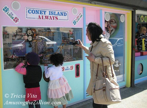 Coney Island animated toy window