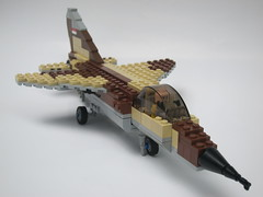 Iraqi Mirage f-1 by air or space
