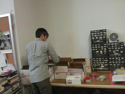 Packing infrared dual camera kits!