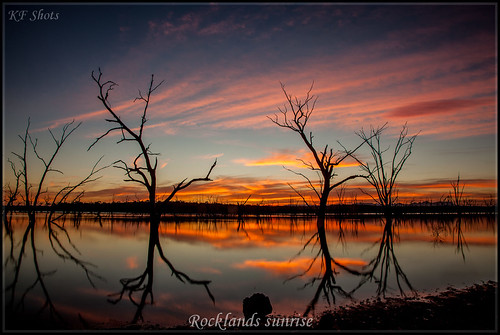 Rocklands sunrise