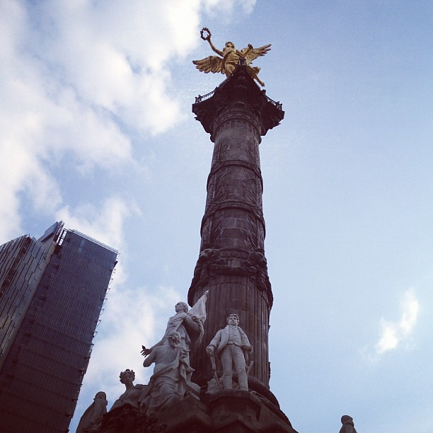 The Angel on Paseo La Reforma, México City