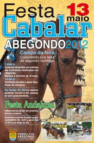 Abegondo 2012 - Festa cabalar - cartel