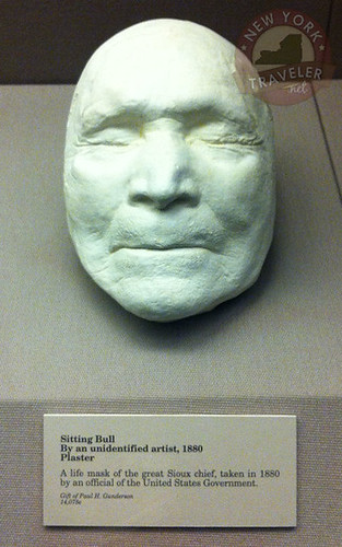 Siting Bull Plaster Life Mask