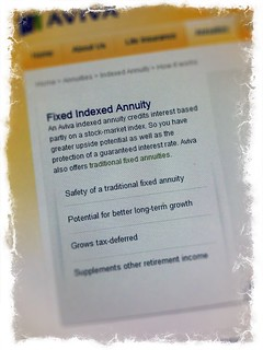 Fixed index annuity
