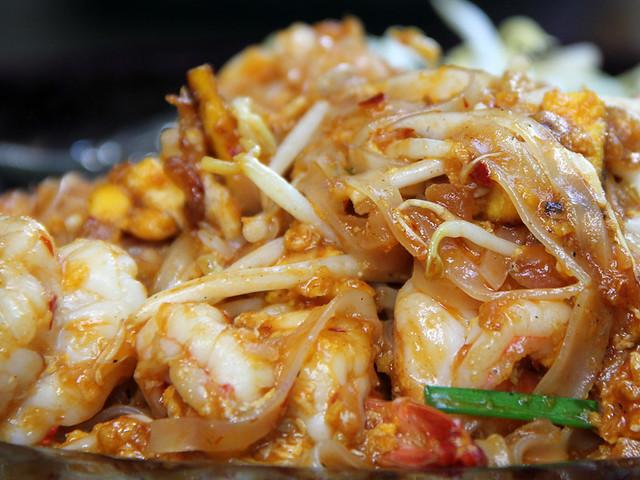 Pad Thai (Thai Fried Noodles) ผัดไทย